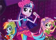 juego Equestria Girls Batalla de las Bandas