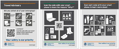 Examples of QR Code Signage