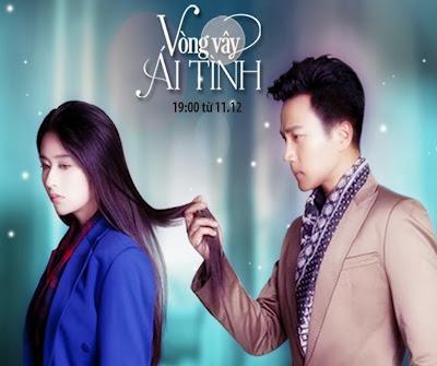 Poster phim: Vòng Vây Ái Tình - Sealed With A Kiss 2012