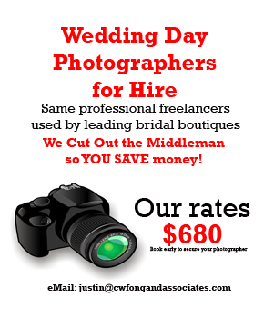 good and cheap singapore wedding day photographers