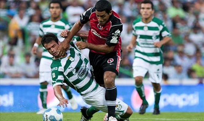 Santos Laguna vs Xolos Tijuana Fecha 3 Apertura 2015 Liga MX