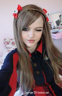 Gadis 16 Tahun Ini Memiliki Wajah Seperti Barbie