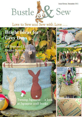 December's Bustle & Sew Magazine