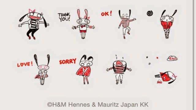 Hennes-chan & Mauritz-kun sticker