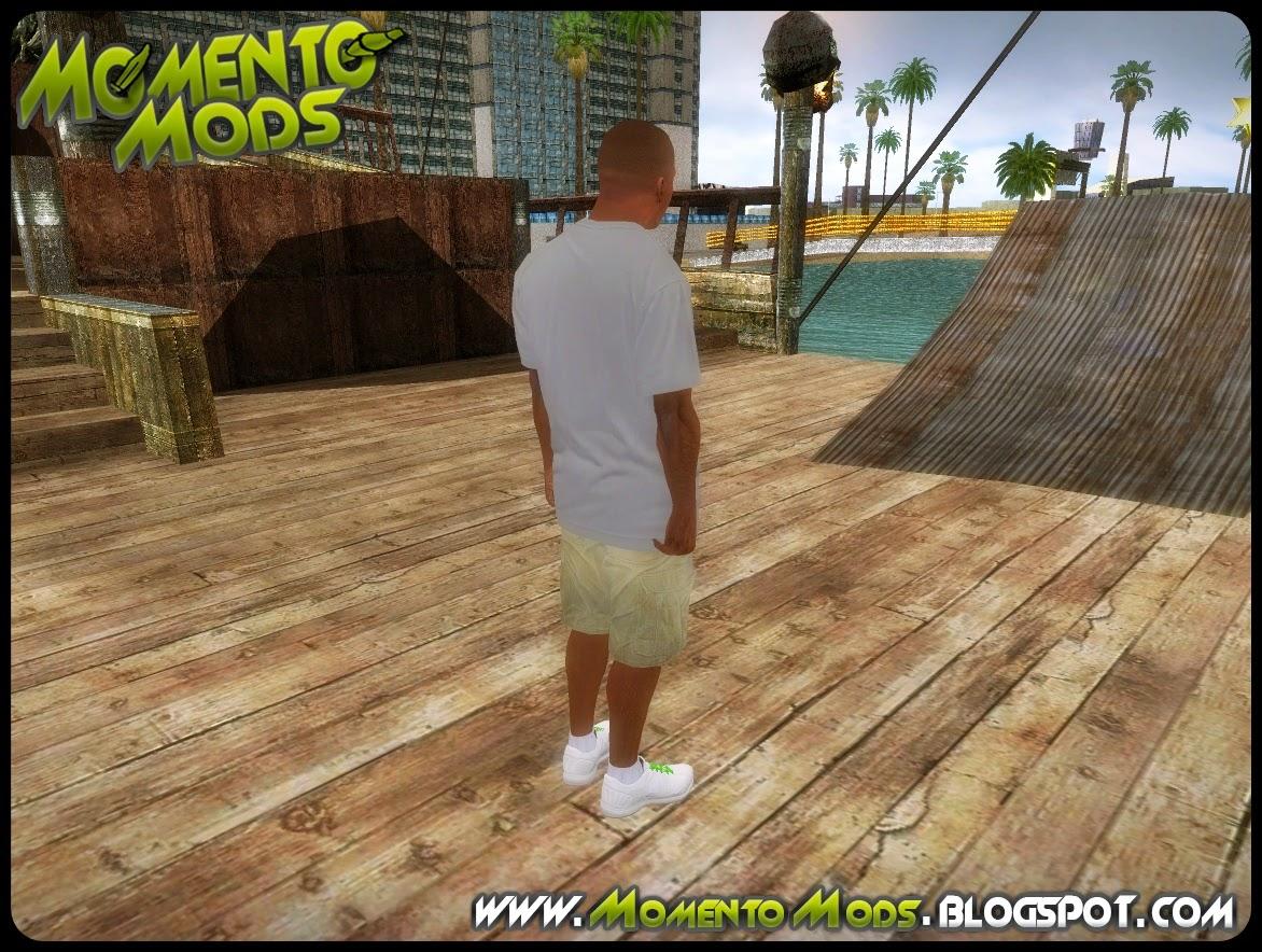 GTA SA - Skin Franklin Do GTA 5
