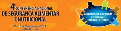 4ª Conferência Nacional de Segurança Alimentar