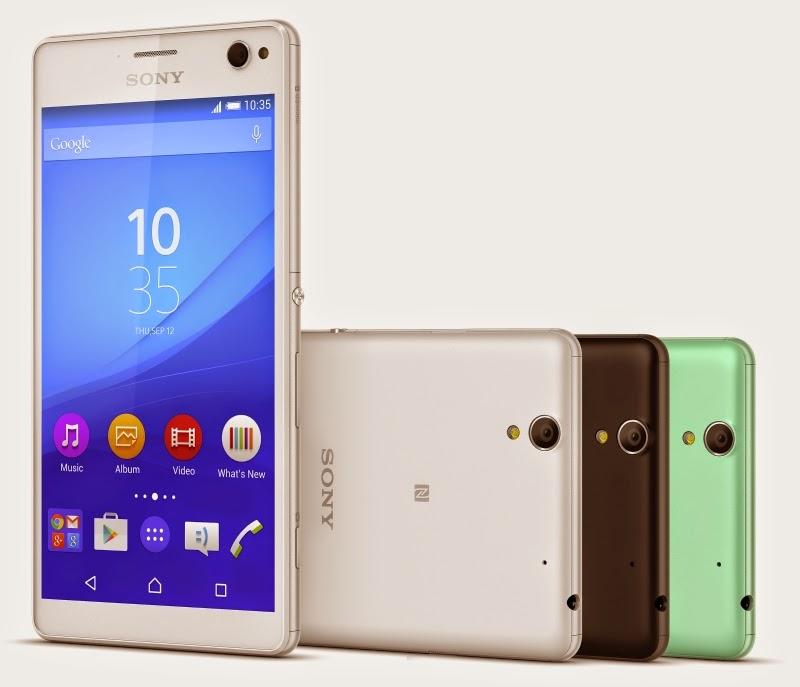 سوني تكشف رسميا عن هاتفها الجديد Xperia C4 (فيديو)
