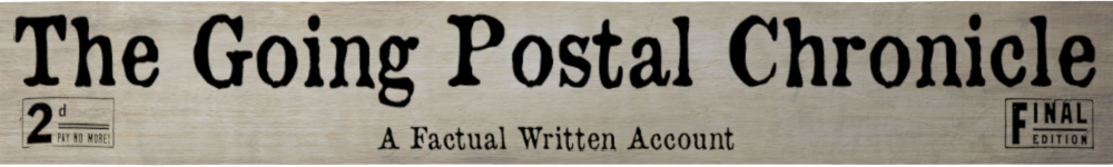 The Going Postal Chronicle