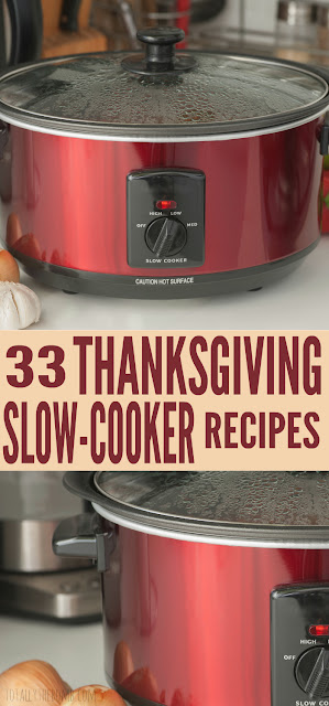 33 Thanksgiving Slow-Cooker Recipes