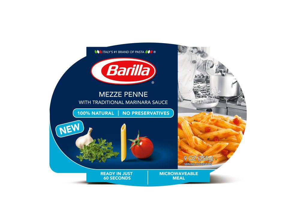 News Barilla New Shelf Le Microwavable Meals Brand Eating