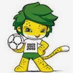 Mascote oficial da Copa do Mundo realizada na África em 2010.
