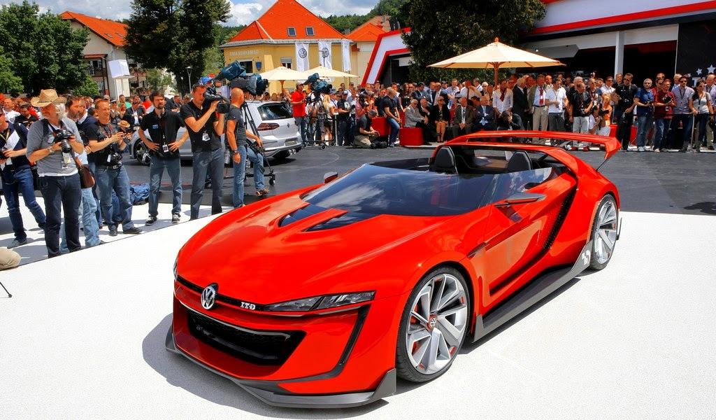 2014 Volkswagen GTI Roadster Concept Pictures