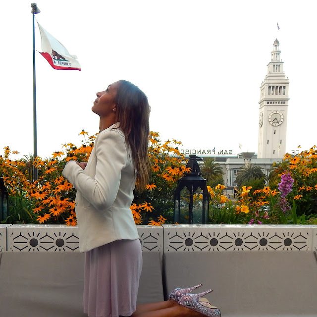 San Francisco, Clock Tower, Embarcadero, JustFab Shoes