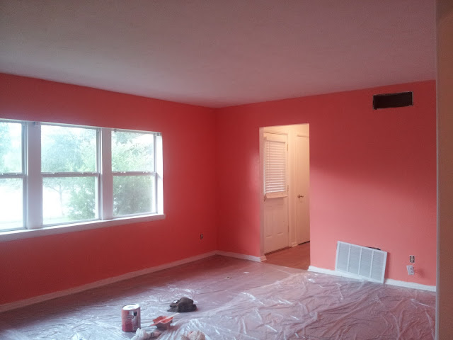 The Glam Nomad Living Room Paint