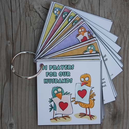 They're Here!! Prayer Cards for Our Husbands!! - Time-Warp Wife