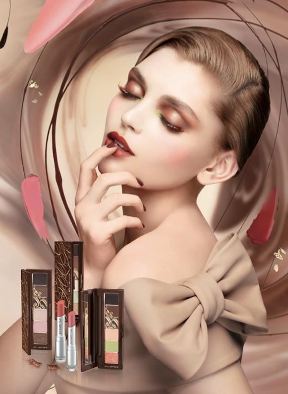 shu uemura chocolat-donna collection maquillage automne fall коллекция макияжа осень 2012