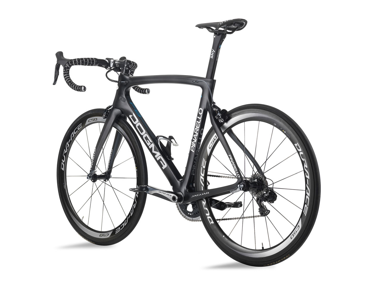 Jaguar, Team Sky and Pinarello - Tour de France racing bike