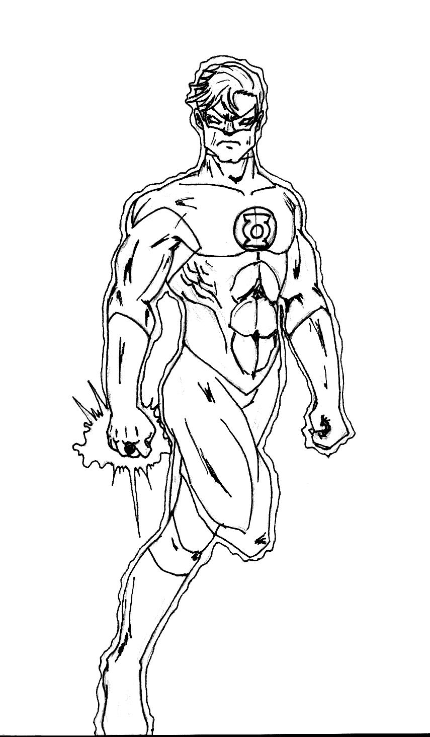 Desenhos da liga da justi a para colorir imprimir for Flash da colorare
