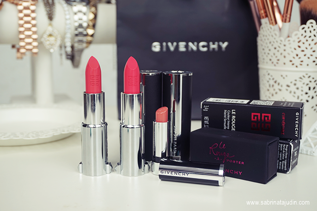 Givenchy le rouge porter lipsticks review sabrina for Givenchy rouge miroir lipstick