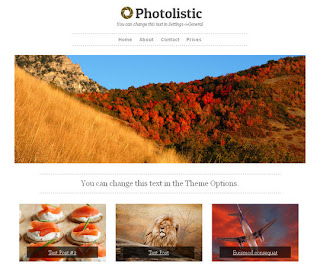 Photolistic – Free WordPress Theme for Photographers