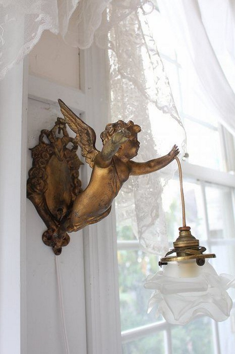 Ana Silk Flowers Angels Figurines Sculptures Decorative