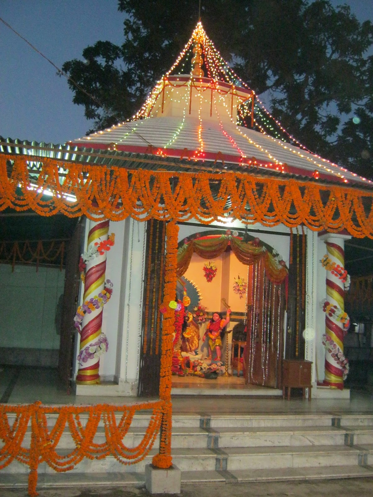 Kushmandi Police Station Temple