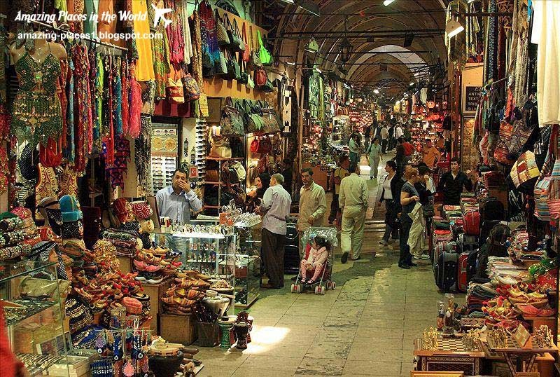 Grand Bazaar in Istanbul, interesting markets in the world