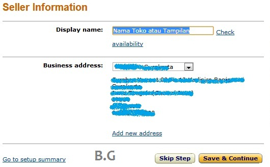 cara mendaftar menjadi penjual di amazon dengan mudah