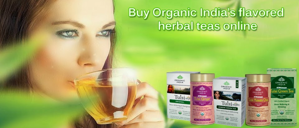 Buy Organic India Flavored Herbal Teas Online - Dietkart.com