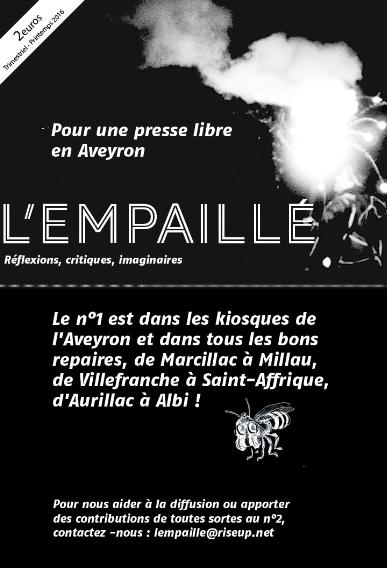 Le Guingois L 39 Empaille Nouveau Journal Libre Aveyronnais