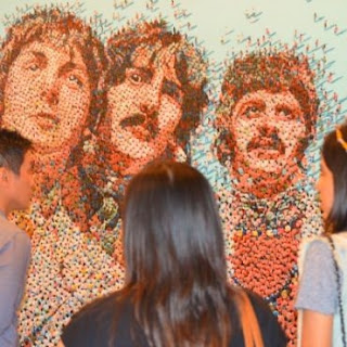 The Beatles In Jakarta Art Bazaar 2012