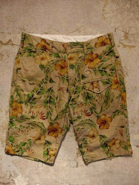 Engineered Garments Ghurka Short-Floral Print Canvas & C/L Floral Print Spring/Summer 2015 SUNRISE MARKET