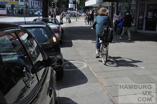 Gehwegradeln Osterstraße