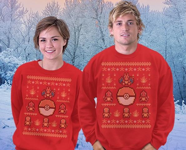 Teefury Zelda Christmas Sweater 79