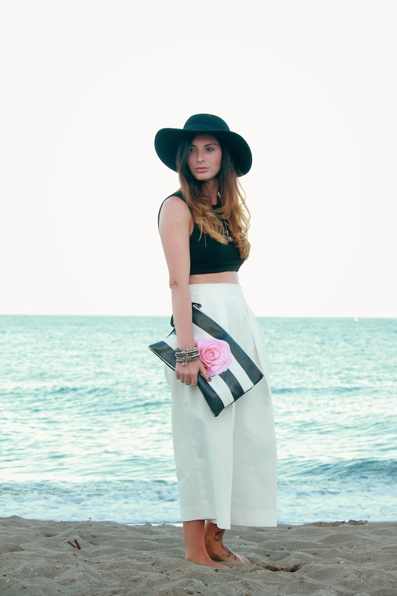 ZARA, OUTFIT, STYLE, LOOK, BLACK, WHITE