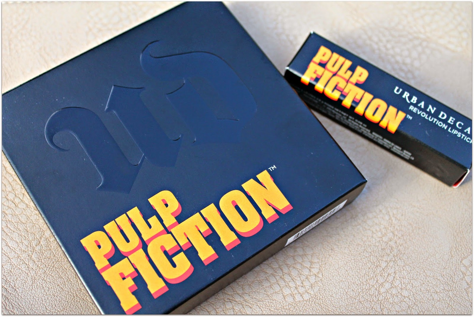 Urban Decay Pulp Fiction Palette & Lipstick