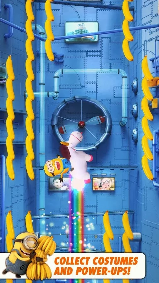 Screenshot Despicable Me: Minion Rush Android