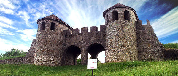 POROLISSUM Roman Castle