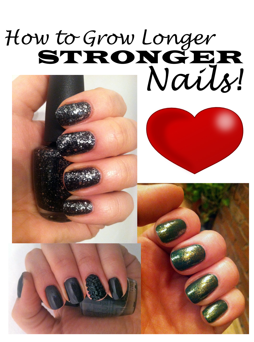 How To Grow Long Healthy Nails   Makeup & Beauty Tips, Tricks ...