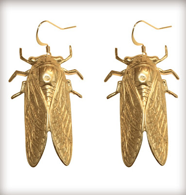 Bug earrings
