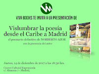 Vislumbrar la poesía desde el Caribe a Madrid