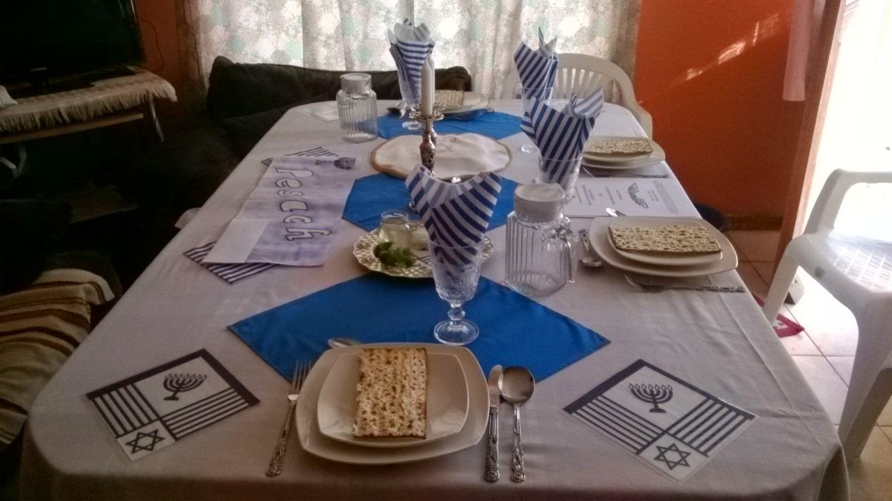 Pesach Memorial Seder at one of our groups' home