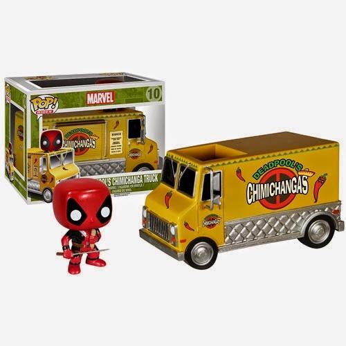 Funko Pop! Deadpool Truck