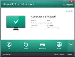 Kaspersky Internet Security 2016 16.0.0.614 Offline Installer