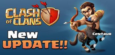 Clash of Clans Update! Troops - Centaur