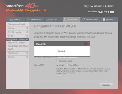 Mengganti Password Modem Wifi SmartFren AndroMax M2P