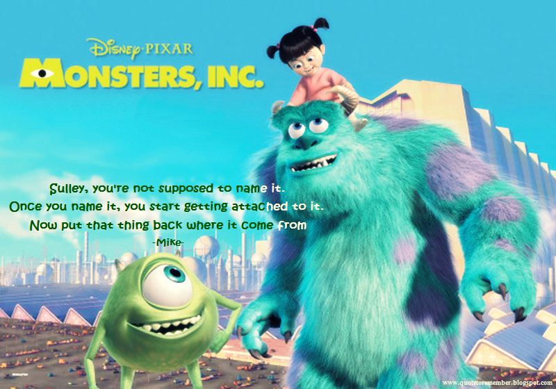 Home Quotes Monsters Inc QuotesQuotes From Monsters Inc