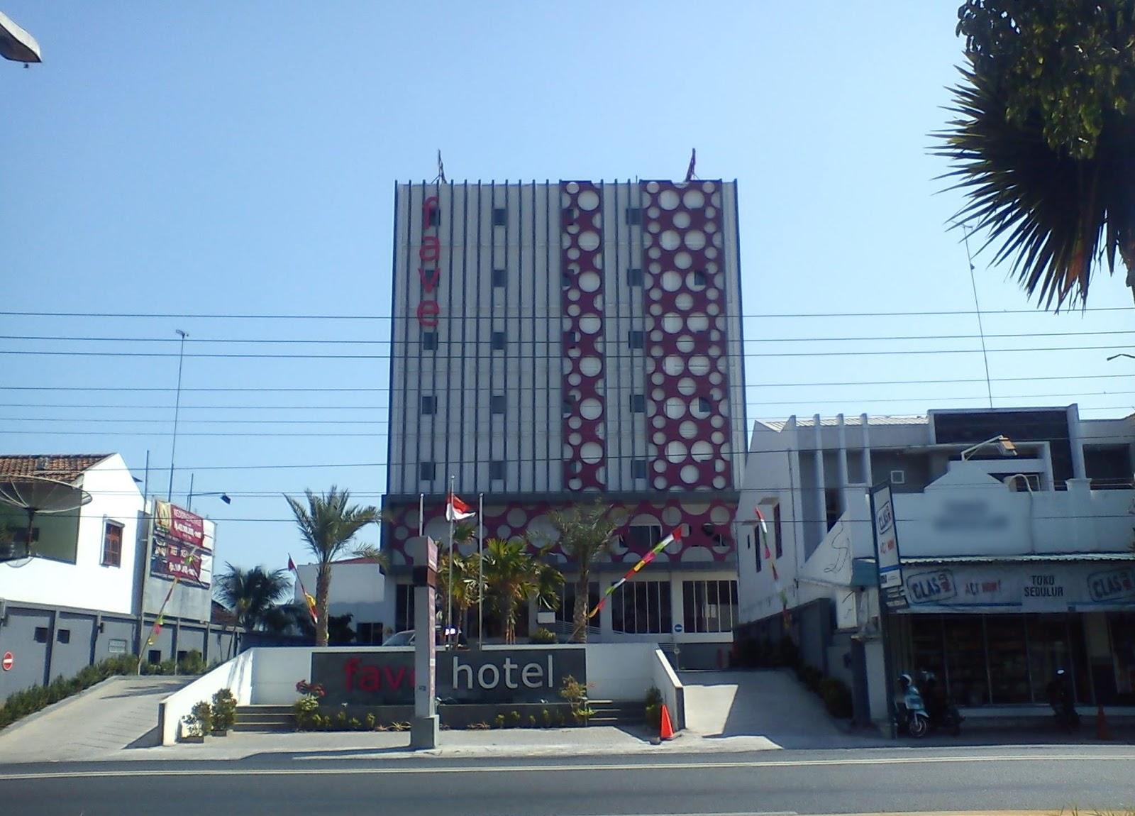 Gambar hotel fave yang ada di rembang