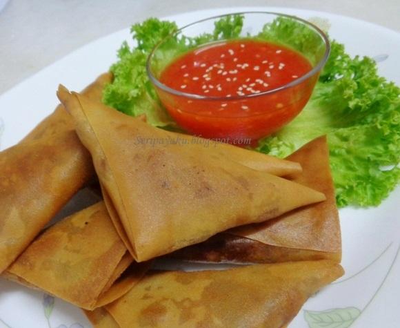 My Kuali: Samosa inti daging+kentang