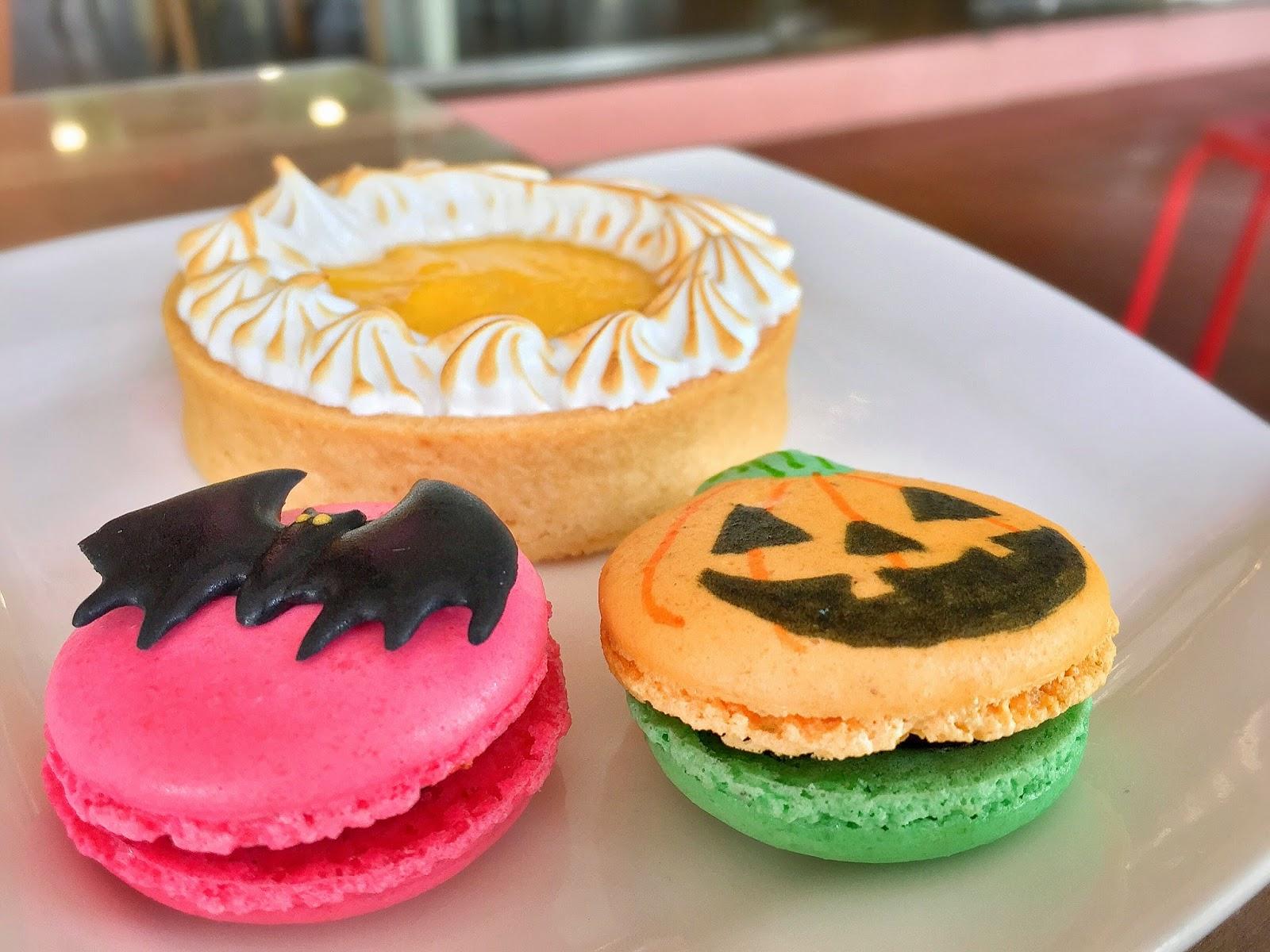 Hatter Street - Macarons and Kumquat Tart